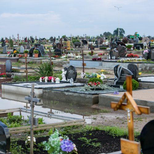 Apsemtos Vainatrakio kapinės  © Vilmanto Raupelio nuotr.