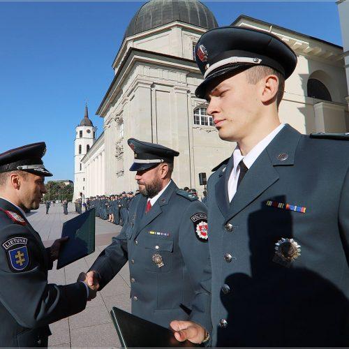 Policija mini Angelų sargų dieną