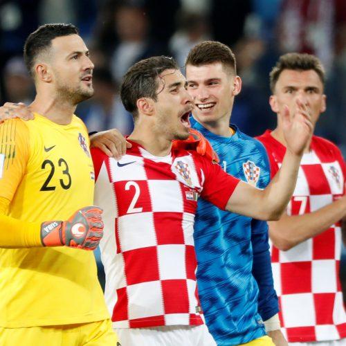 Kroatijos futbolininkai nugalėjo Nigeriją  © Scanpix nuotr.