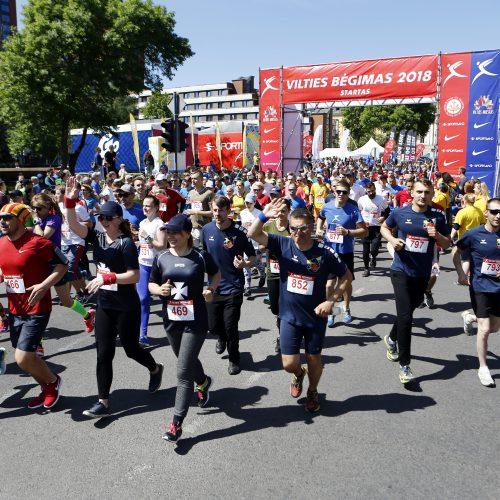 Vilties bėgimas 2018  © Vytauto Petriko nuotr.