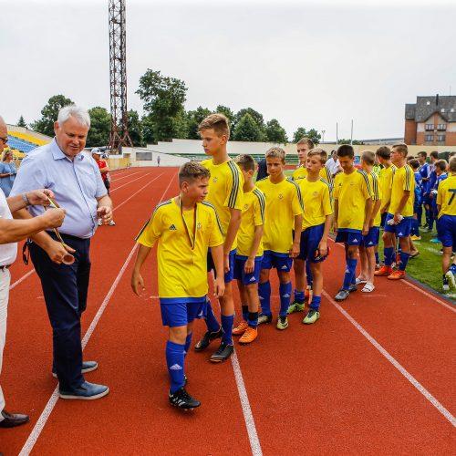 Futbolo turnyras Mero taurei laimėti  © Vytauto Petriko nuotr.