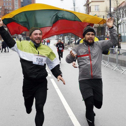 Laisvės gynėjų dienos bėgimas Klaipėdoje