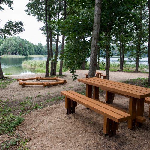 Nauja stovyklavietė prie Skaisčio ežero Trakų rajone