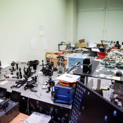 Ekskursija Fizikos instituto mokslo ir technologijų parke  © P. Peleckio / Fotobanko nuotr.