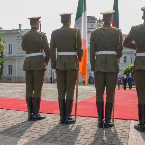 Į Lietuvą atvyko Airijos prezidentas  © BFL, R. Dačkaus / Prezidentūros nuotr.
