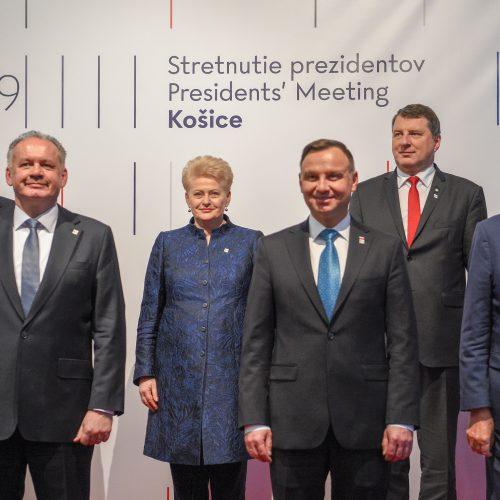 D. Grybauskaitė – NATO valstybių vadovų susitikime