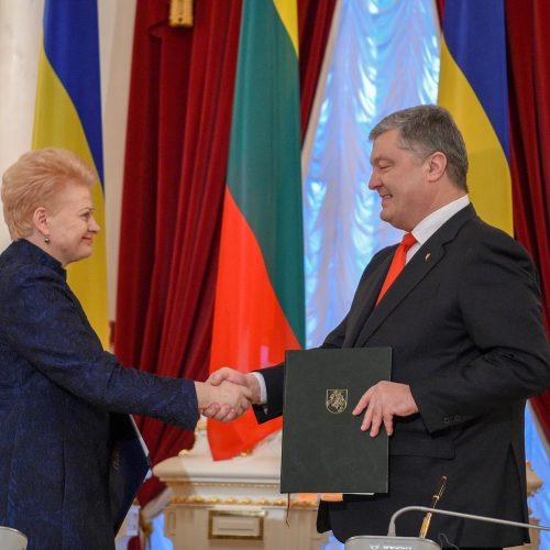 D. Grybauskaitė vieši Ukrainoje  © R. Dačkaus / Prezidentūros nuotr.