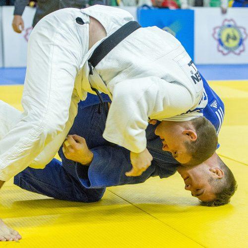Dziudo. Lietuvos čempionato 2-oji diena  © Evaldo Šemioto nuotr.