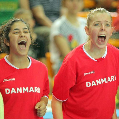 Lietuva – Danija 71:58. Merginų U16 EČ  © Evaldo Šemioto nuotr.