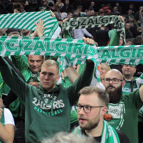 """Eurolyga: """"Žalgiris"""" – """"Bayern"""" 85:79  © Evaldo Šemioto nuotr."""