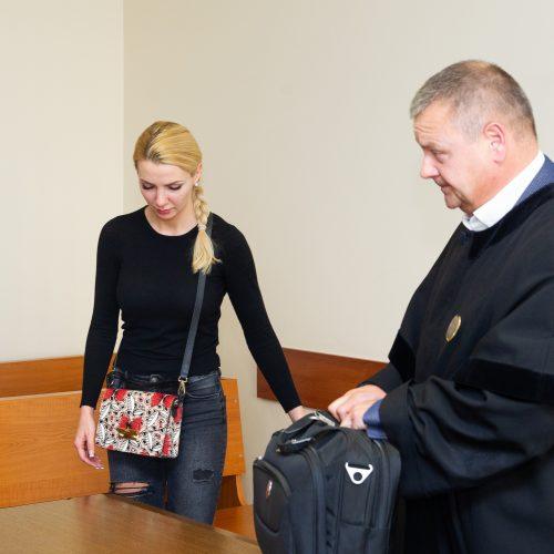 Teisme – Monikos ir Andriaus Šedžių skyrybų byla  © I. Gelūno (BFL) nuotr.