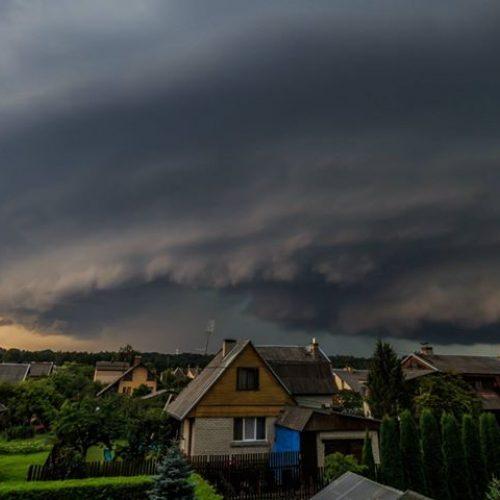 Kauną nuplovė smarkus lietus  © Aliaus Koroliovo, Eitvydo Kinaičio, skaitytojų,