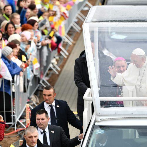 Popiežiaus vizitas Latvijoje  © Scanpix nuotr.
