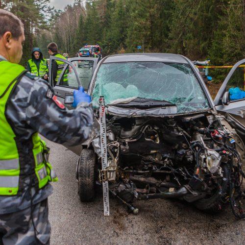 Kraupi avarija Kauno rajone