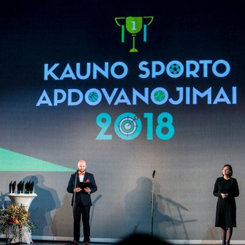 Kauno sporto apdovanojimai 2018
