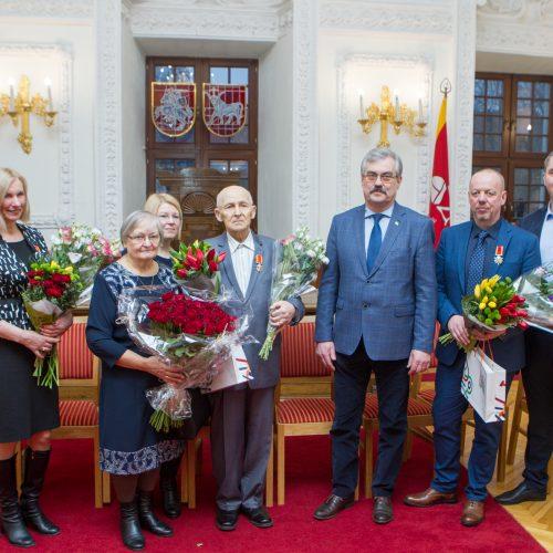 Apdovanojimai Kauno rotušėje