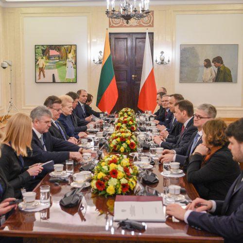 D. Grybauskaitės vizitas Lenkijoje  © R. Dačkaus / Prezidentūros nuotr.