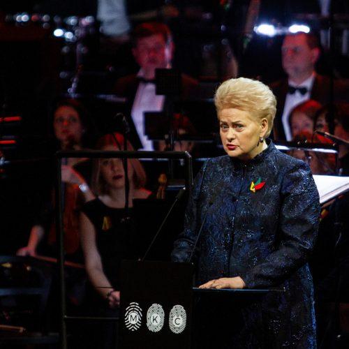 Nacionalinių kultūros ir meno premijų įteikimo ceremonija  © Pauliaus Peleckio/Fotobanko nuotr.