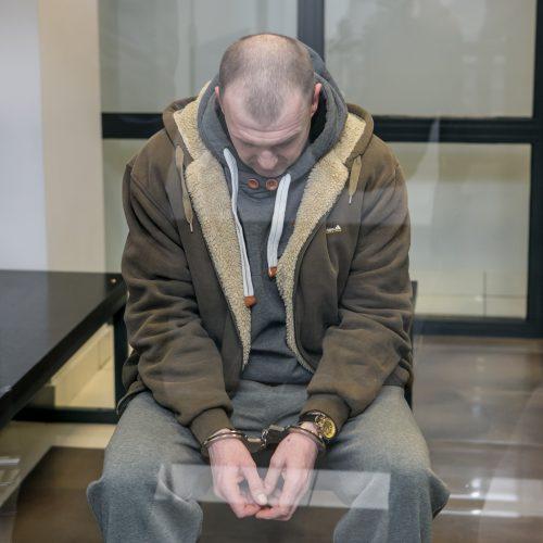 Darbdavį nušovusio R. Sadovskyi teismas  © Vilmanto Raupelio nuotr.