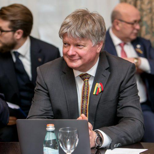 Iškilmingas Vyriausybės posėdis Kaune  © Vilmanto Raupelio nuotr.