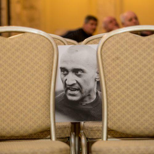 """Diskusija """"Vis dar besitęsiantis karas Ukrainoje""""  © Vilmanto Raupelio nuotr."""