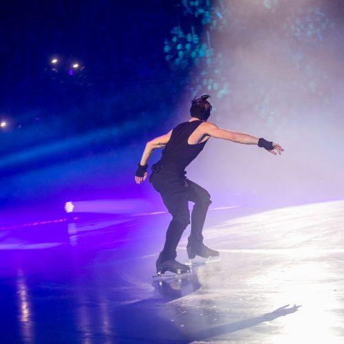 """""""Roko simfonija ant ledo""""  © Vilmanto Raupelio nuotr."""