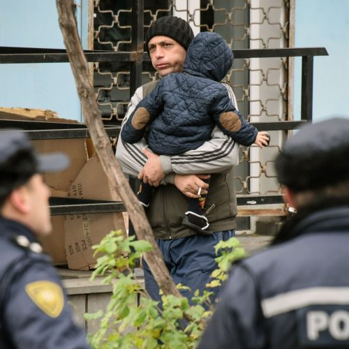 Antiteroristinė operacija Tbilisyje  © Scanpix nuotr.