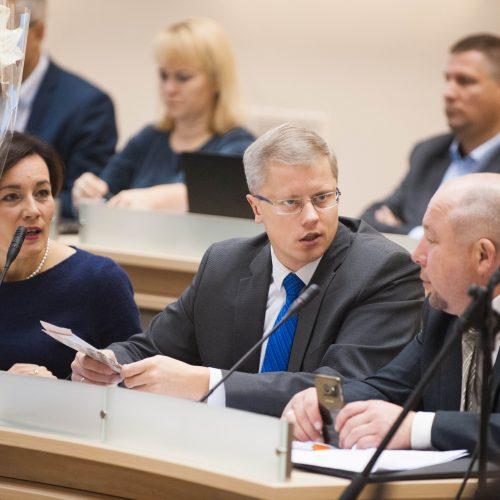 Savivaldybės tarybos posėdis   © Akvilės Snarskienės nuotr.