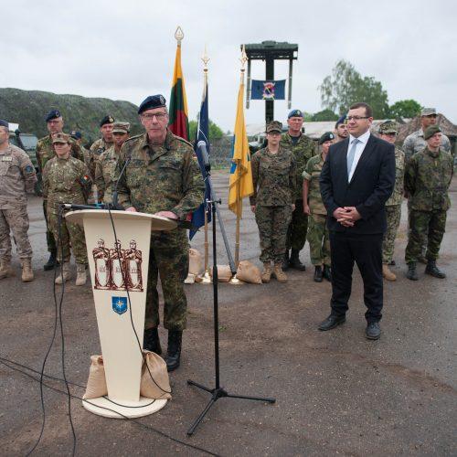 NATO ryšių pratybos Kaune  © Akvilės Snarskienės nuotr.