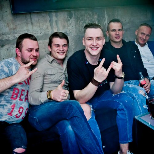 """""""Taboo"""" klube gimtadienį šventė Soliaris  © Ievos Jonelytės nuotr."""