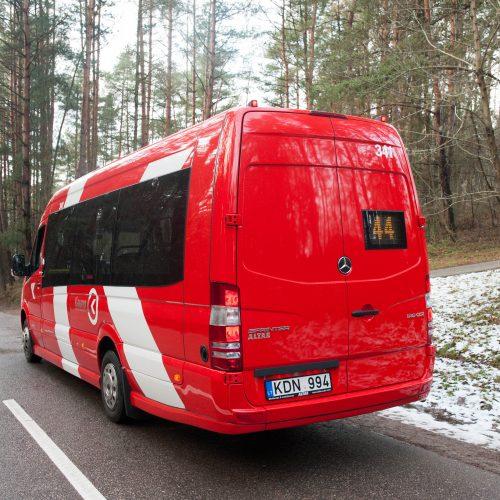 Šventinė dovana kauniečiams – nauji mikroautobusai  © Akvilės Snarskienės nuotr.
