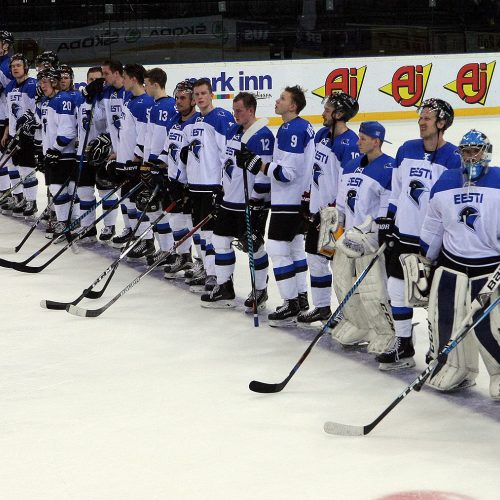 Ledo ritulys: Estija – Rumunija 1:0  © Evaldo Šemioto nuotr.