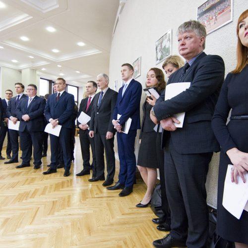 Ministrai pristatė Vyriausybės darbų planą
