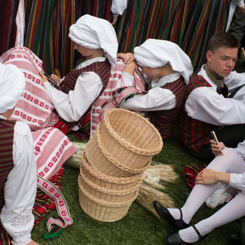 Dainų šventės Šokių diena  © V. Skaraičio / BFL nuotr.