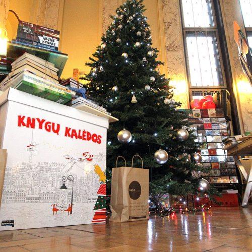 Kalėdinė knygų mugė Ramovėje  © Evaldo Šemioto nuotr.