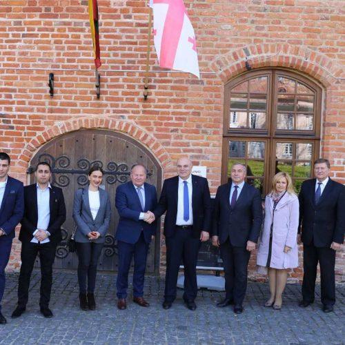 Kauno rajone viešėjo Gorio apskrities delegacija  © Kauno rajono savivaldybės nuotr.