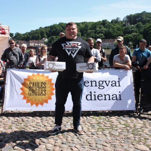 Galiūnų varžybų Kaune  © Organizatorių nuotr.