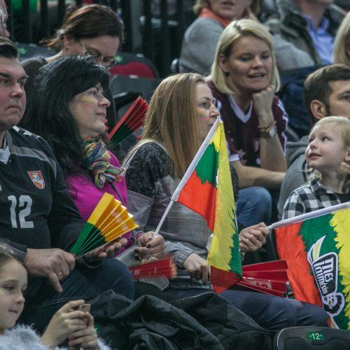 Lietuva - Izraelis 36:20  © Vytauto Petriko nuotr.