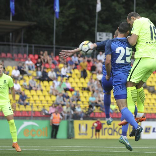 """UEFA Europos lygos atranka: """"Trakai"""" - """"Irtyš"""" 0:0  © Mariaus Morkevičiaus /ELTOS nuotr."""