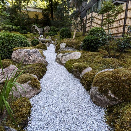 Vilniuje pristatytas naujasis Japoniškas sodas   © G. Bartuškos, ELTA nuotr.
