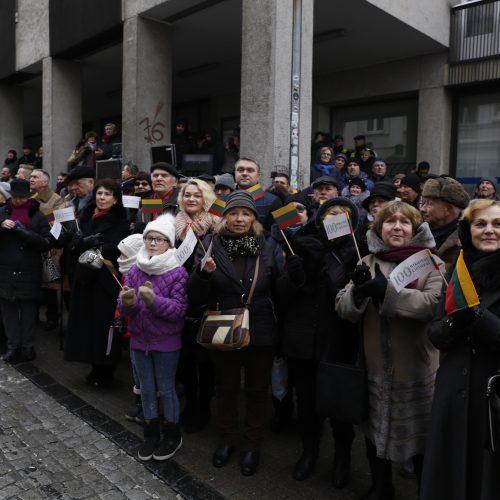 Signatarų namuose pradedamas eksponuoti Nepriklausomybės Aktas  © Mariaus Morkevičiaus, ELTA nuotr.