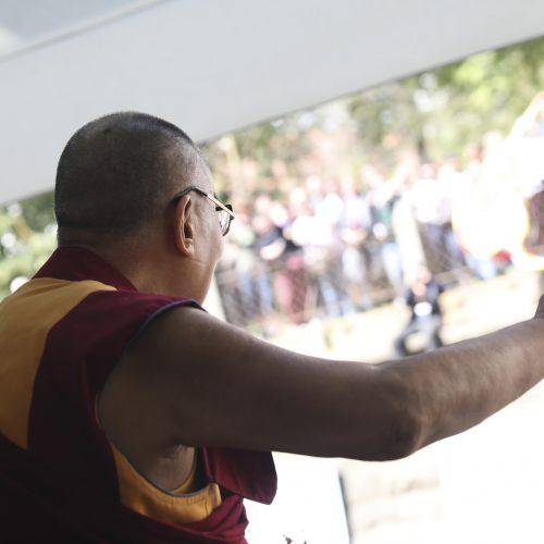 Dalai Lamos vizitas Vilniuje  © V. Skaraičio / BFL, M. Morkevičiaus / ELTOS nuotr.