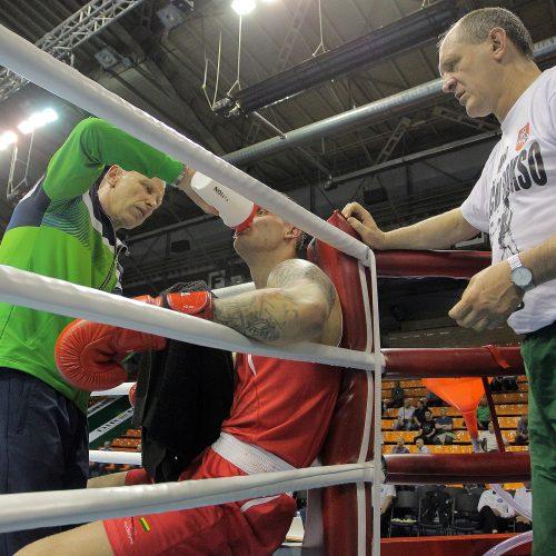 A.Šociko bokso turnyro pusfinaliai  © Evaldo Šemioto nuotr.