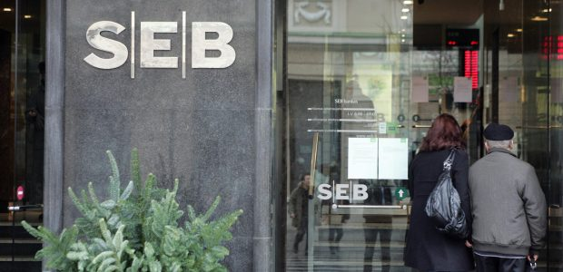 SEB bankas uždaro vieną skyrių Gedimino prospekte