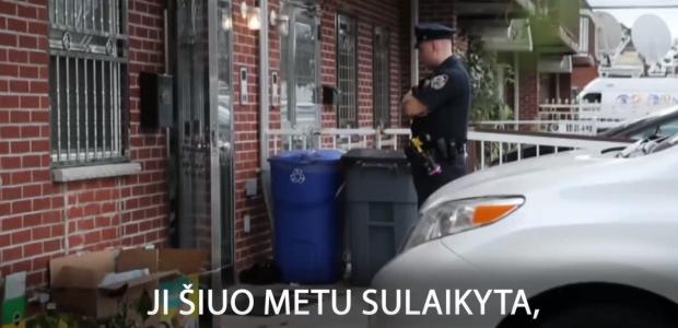 Kraupus nusikaltimas Niujorke – peiliu subadyti kūdikiai