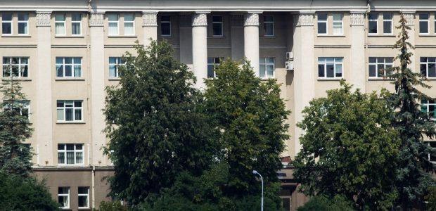 Vilniaus savivaldybė prašo Vyriausybės perduoti LEU centrinius rūmus