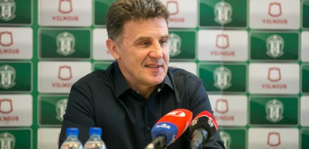 """""""Žalgirio"""" treneris M. Zubas: pagrindinis tikslas – pasiruošti mūšiui dėl Supertaurės"""