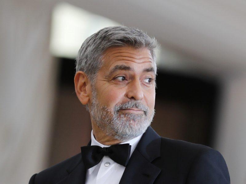Nė vieno naujo vaidmens nesukūręs G. Clooney tapo daugiausia uždirbusiu aktoriumi