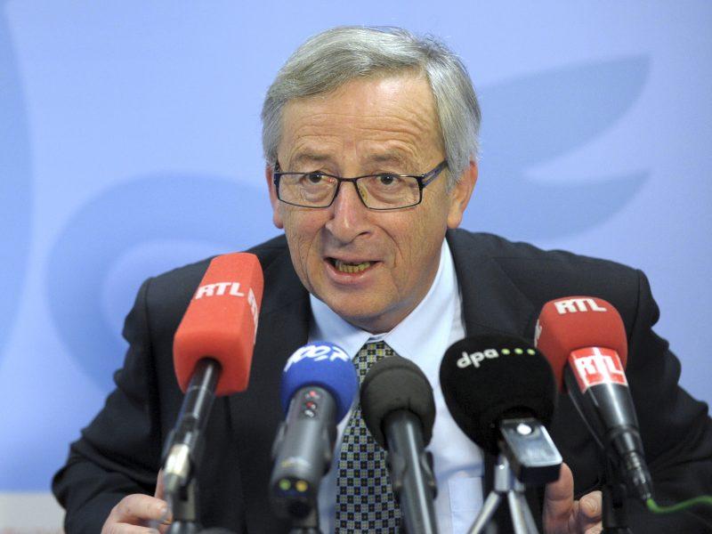 J.- C. Junckeris savo viziją gynė rizikuodamas susiremti su E. Macronu