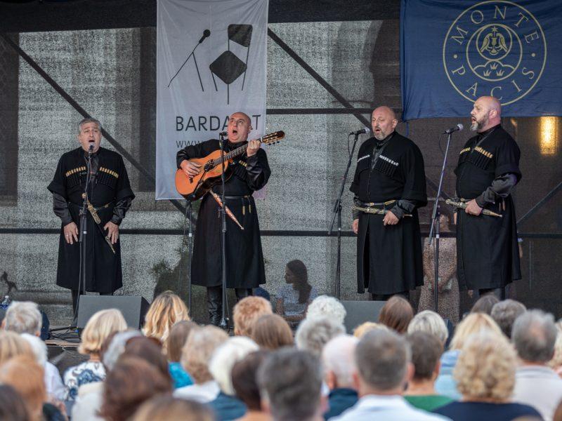 Pažaislio liepų alėjos vakarai | operos solistų kvartetas iš Sakartvelo